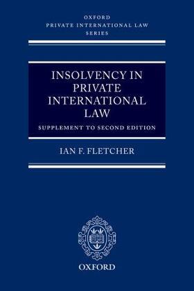 Fletcher | Insolvency in Private International Law | Buch | sack.de