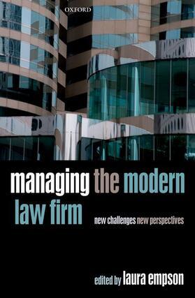 Empson | Managing the Modern Law Firm | Buch | sack.de