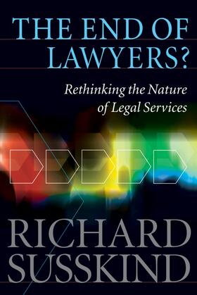 Susskind OBE   The End of Lawyers?   Buch   sack.de
