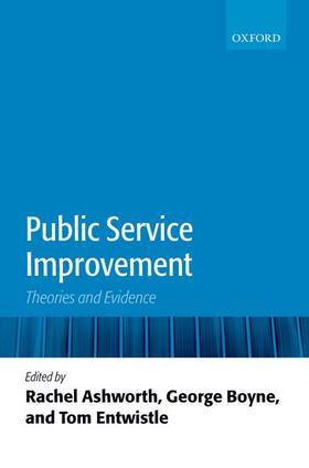 Ashworth / Boyne / Entwistle | Public Service Improvement: Theories and Evidence | Buch | sack.de