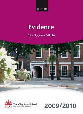 Evidence 2009-2010   Buch   Sack Fachmedien