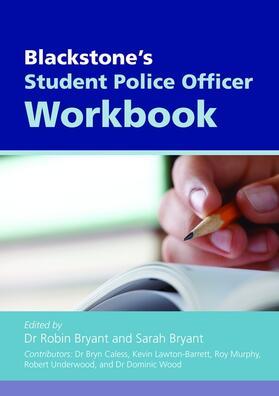 Caless / Lawton-Barrett / Underwood | Blackstone's Student Police Officer Workbook | Buch | sack.de