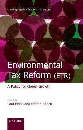 Ekins / Speck | Environmental Tax Reform (ETR) | Buch | sack.de
