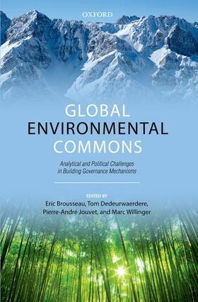 Brousseau / Dedeurwaerdere / Jouvet | Global Environmental Commons | Buch | sack.de