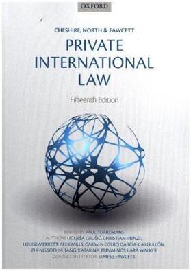 Torremans / Fawcett / Heinze | Cheshire, North & Fawcett: Private International Law | Buch | sack.de