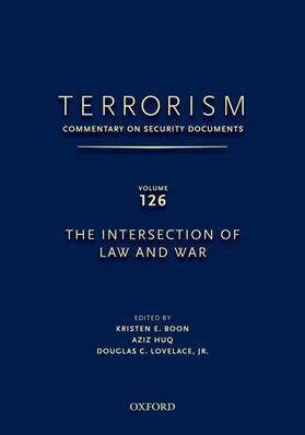 Lovelace / Boon | TERRORISM: COMMENTARY ON SECURITY DOCUMENTS VOLUME 126 | Buch | sack.de