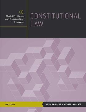 Saunders / Lawrence | Constitutional Law | Buch | sack.de