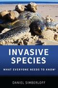 Simberloff |  Invasive Species: What Everyone Needs to Know(r) | Buch |  Sack Fachmedien