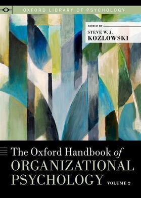 Kozlowski | The Oxford Handbook of Organizational Psychology | Buch | sack.de