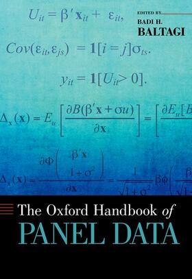 Baltagi | The Oxford Handbook of Panel Data | Buch | sack.de