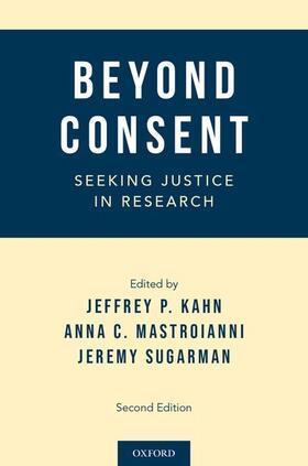 Kahn / Mastroianni / Sugarman | Beyond Consent | Buch | sack.de