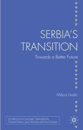 Uvalic   Serbia's Transition   Buch   sack.de