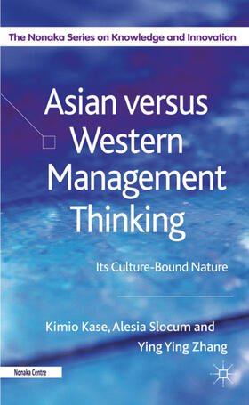 Kase / Slocum / Zhang | Asian versus Western Management Thinking | Buch | sack.de