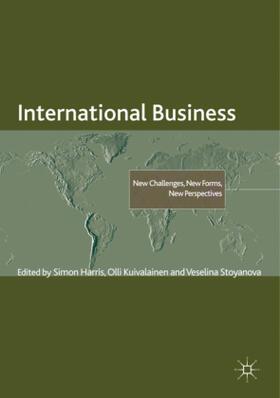 Harris / Kuivalainen / Stoyanova | International Business | Buch | sack.de