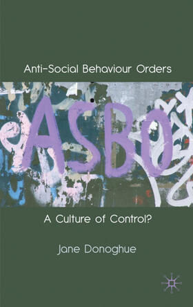 Donoghue | Anti-Social Behaviour Orders | Buch | sack.de