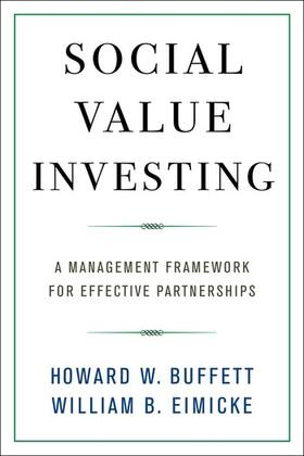 Buffett / Eimicke | Social Value Investing | Buch | sack.de