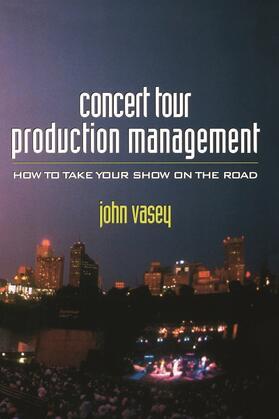 Vasey | Concert Tour Production Management | Buch | sack.de
