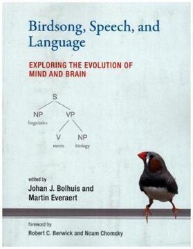 Bolhuis / Everaert | Birdsong, Speech, And Language | Buch | sack.de