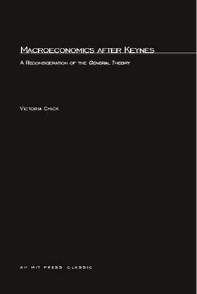 Chick | Macroeconomics after Keynes | Buch | sack.de