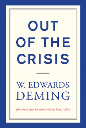 Deming | Out of the Crisis | Buch | sack.de