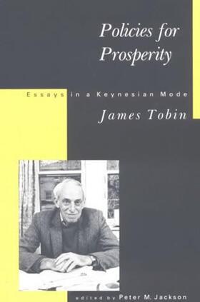 Tobin / Jackson   Policies For Prosperity   Buch   sack.de