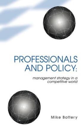 Bottery | Professionals and Policy | Buch | sack.de