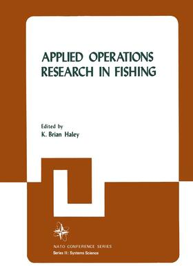 Haley   Applied Operations Research in Fishing   Buch   sack.de