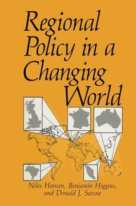 Hansen / Savoie / Higgins   Regional Policy in a Changing World   Buch   sack.de