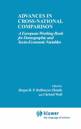 Wolf / Hoffmeyer-Zlotnik   Advances in Cross-National Comparison   Buch   sack.de