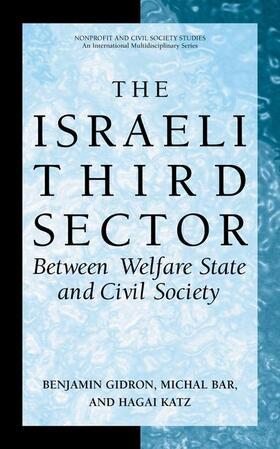 Gidron / Katz / Bar   The Israeli Third Sector   Buch   sack.de
