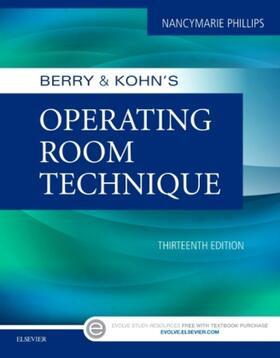 Phillips | Berry & Kohn's Operating Room Technique | Buch | sack.de
