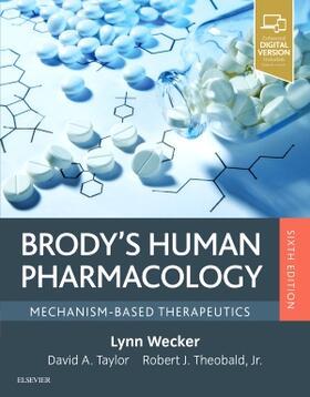 Wecker   Brody's Human Pharmacology   Buch   sack.de