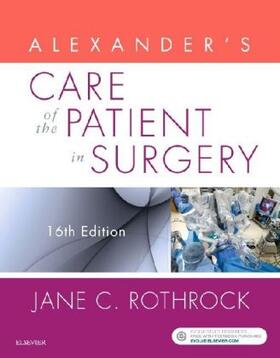Rothrock | Alexander's Care of the Patient in Surgery | Buch | sack.de