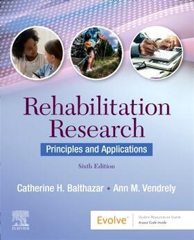 Balthazar / Vendrely | Rehabilitation Research | Buch | sack.de