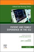 Davidson |  Patient and Family Experience in the Icu, an Issue of Critical Care Nursing Clinics of North America, Volume 32-2 | Buch |  Sack Fachmedien