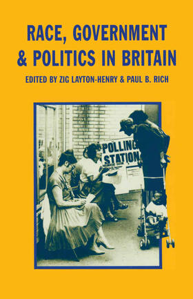Layton-Henry / Rich | Race, Government and Politics in Britain | Buch | sack.de