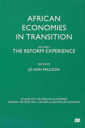 Paulson | African Economies in Transition | Buch | sack.de