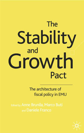 Brunila / Buti / Franco   The Stability and Growth Pact   Buch   sack.de
