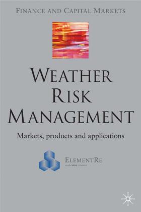 Banks | Weather Risk Management | Buch | sack.de