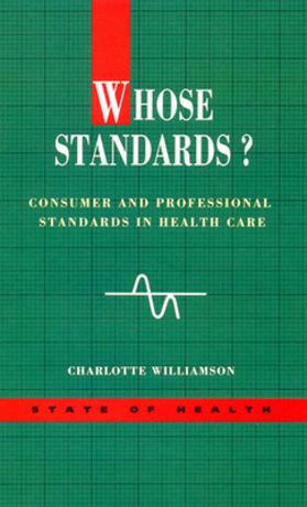 Whose Standards? | Buch | sack.de