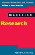 Bushaway    Managing Research   Buch    Sack Fachmedien