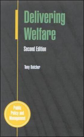 Butcher | Delivering Welfare 2/E | Buch | sack.de