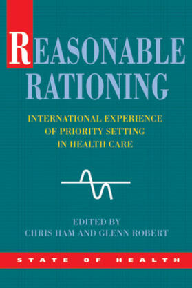 Ham / Glenn | Reasonable Rationing | Buch | sack.de