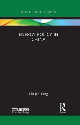 Yang   Energy Policy in China   Buch   sack.de