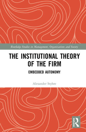 Styhre | The Institutional Theory of the Firm | Buch | sack.de
