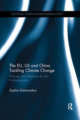 Kalantzakos | The EU, US and China Tackling Climate Change | Buch | sack.de