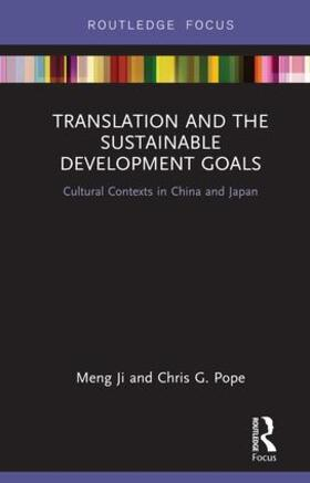 Ji / Pope | Translation and the Sustainable Development Goals | Buch | sack.de