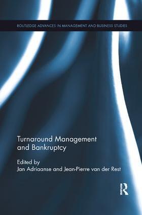 Adriaanse / van der Rest | Turnaround Management and Bankruptcy | Buch | sack.de