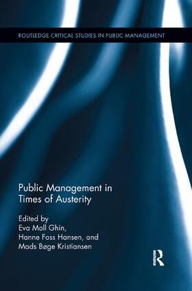 Sørensen / Hansen / Kristiansen | Public Management in Times of Austerity | Buch | sack.de
