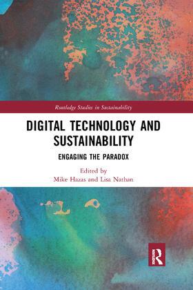 Hazas / Nathan | Digital Technology and Sustainability | Buch | sack.de